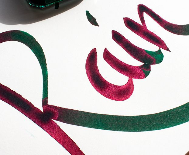 Diamine November Rain Sheen-Tinte