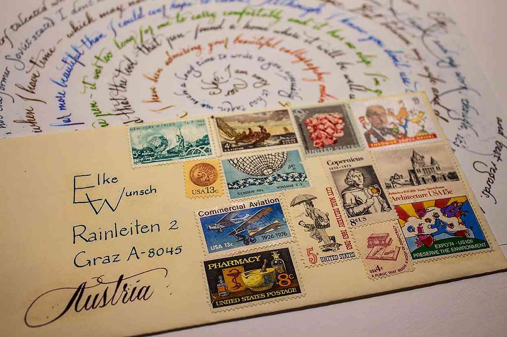 Brief eines Freundes aus Amerika