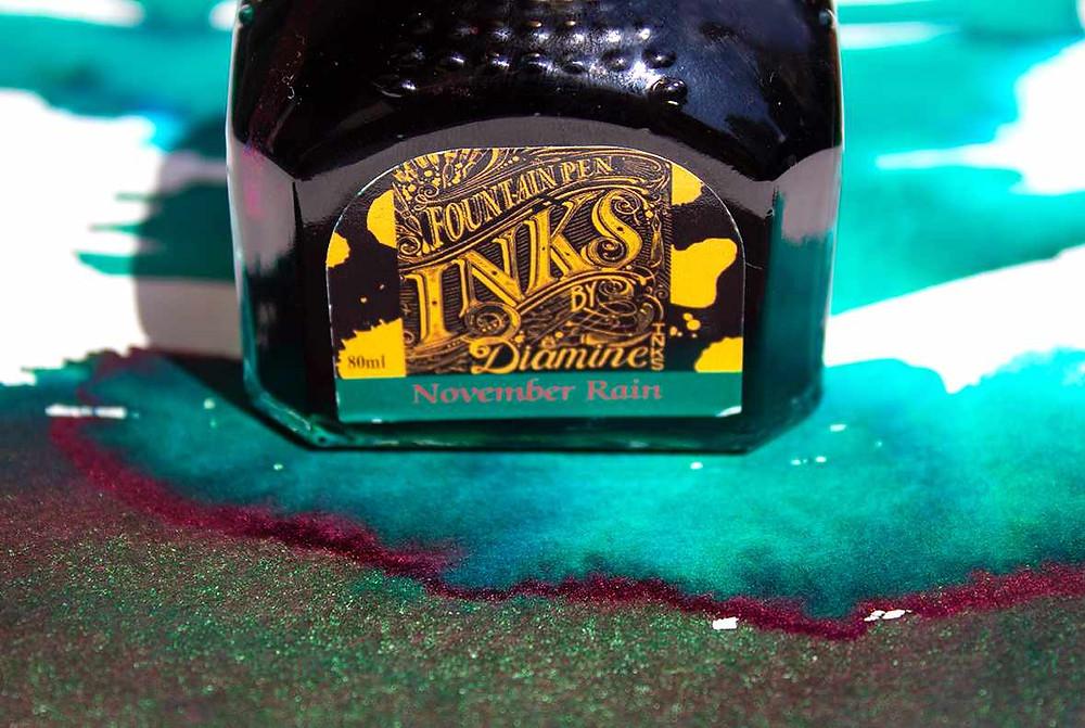 """Diamines Sheen-Tinte """"November Rain"""""""
