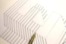 3D Buchstabe E Handlettering Letter E
