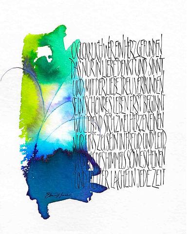 Kalligrafische Auftragswerke