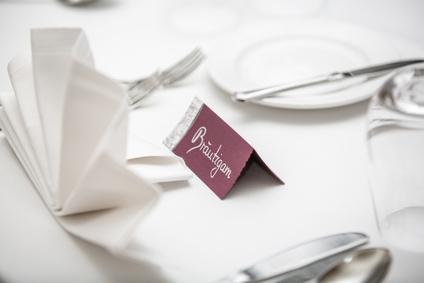 Tischkärtchen Hochzeit