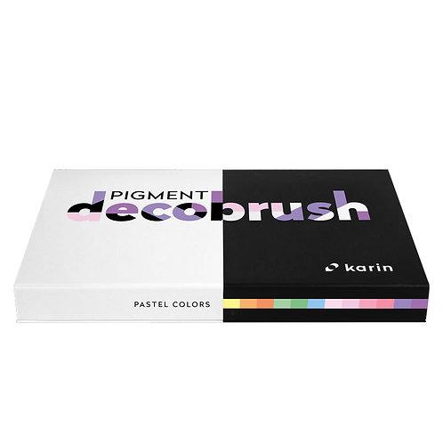 Karin PIGMENT decobrush Pastel Colors Kollektion