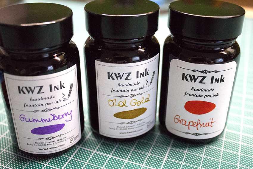 Tinten der Firma NWZ