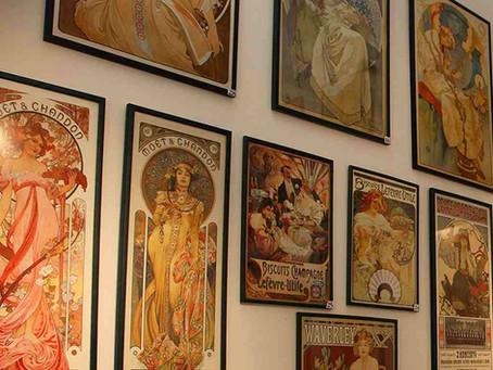 Prag, ein Paradies für Liebhaber der Jugendstil-Schrift und Bauten