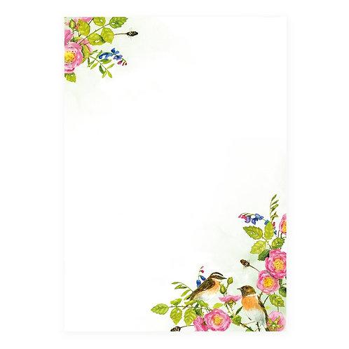 Briefpapier-Set Rosen