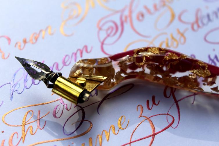 Ergonomischer Federhalter Kalligrafie