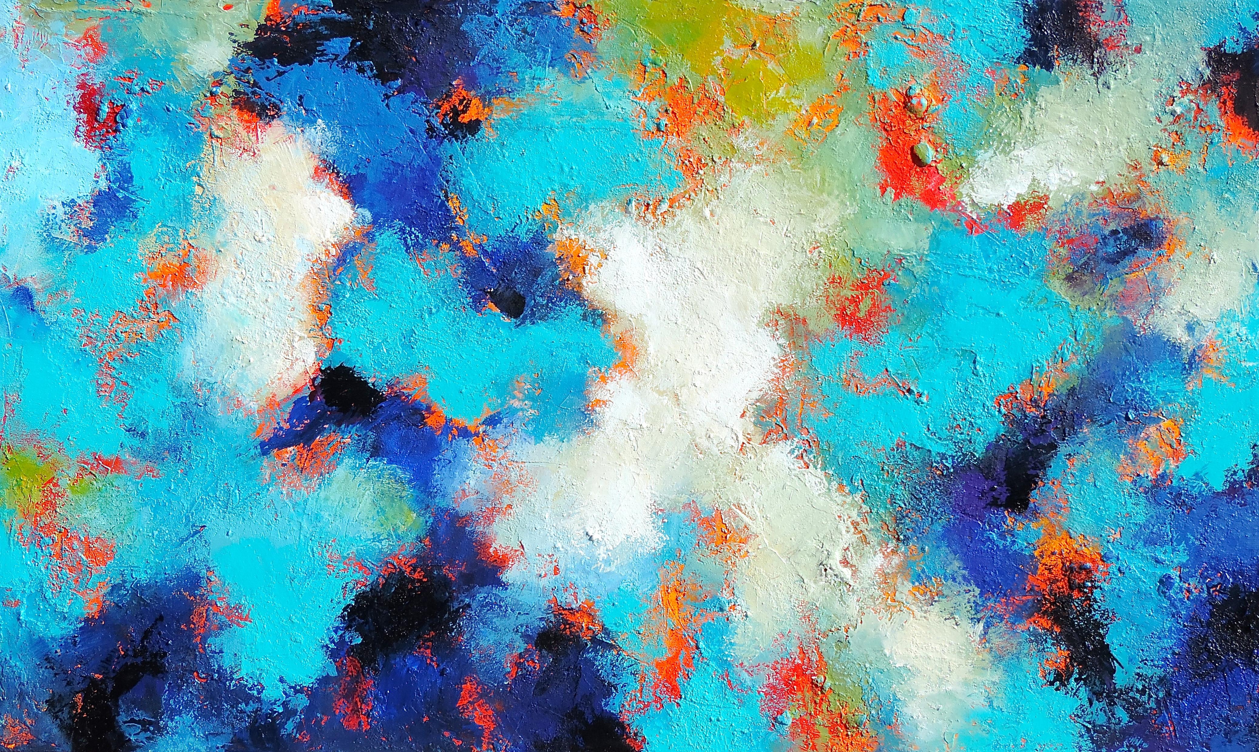 TurquoiseCrossing36 x 60