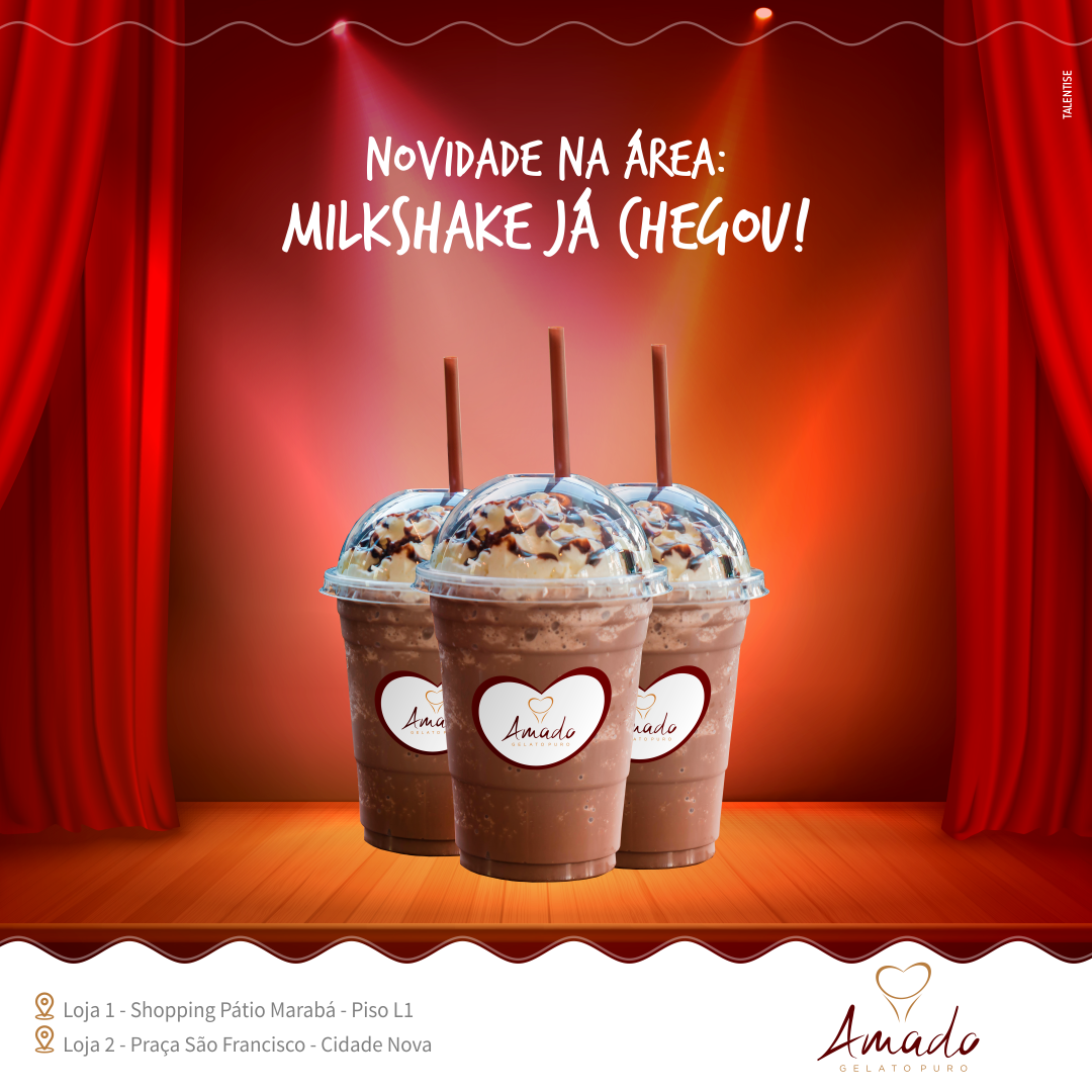 AMADO_Post_Stories_Chegou milkshake
