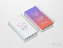 Cartão personalizado para Papelaria