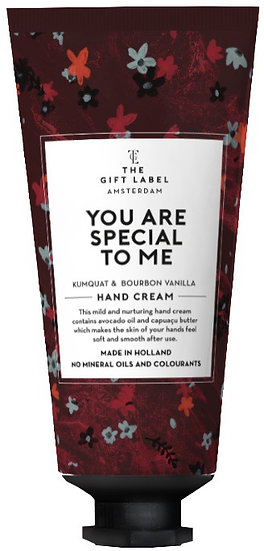 "Handcreme ""You are special to me"" Tube  - The Gift Label"
