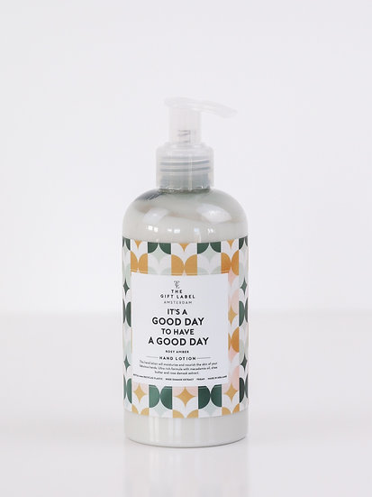 "Handlotion ""It´s a good day to have a good day"""" - The Gift Label"