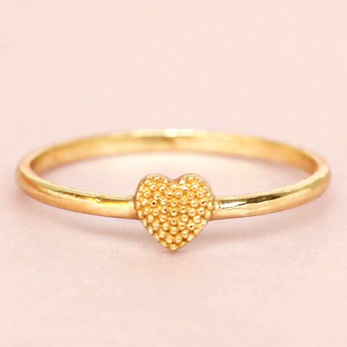 Ring Heart Gold