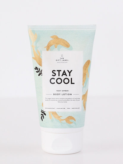 """Bodylotion """"Stay cool"""" - The Gift Label"""