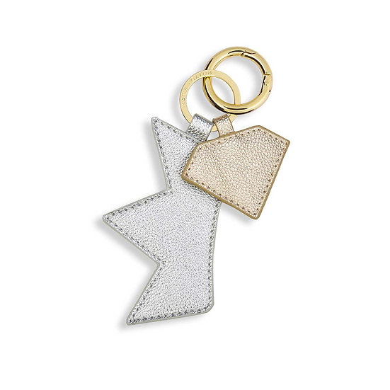 """Luxe Key Ring """"Crown and Diamond"""" Katie Loxton"""