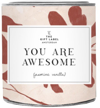 "Duftkerze ""You are awesome"" - The Gift Label"