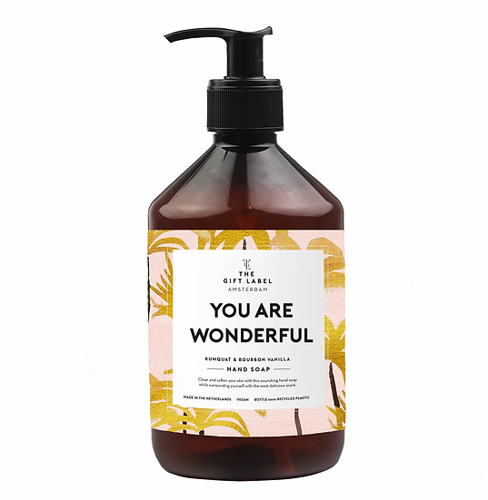 "Handseife ""You are wonderful"" - The Gift Label"