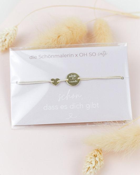 """Armband """"Schönste Freundin"""""""