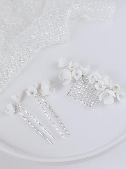 Set White Flower
