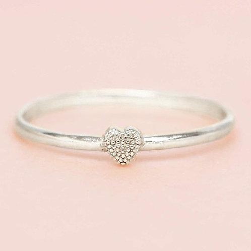 Ring little Heart Silber