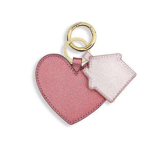 """Luxe Key Ring """"Heart & Home"""" Katie Loxton"""