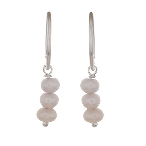 Ohrringe Pearl silber