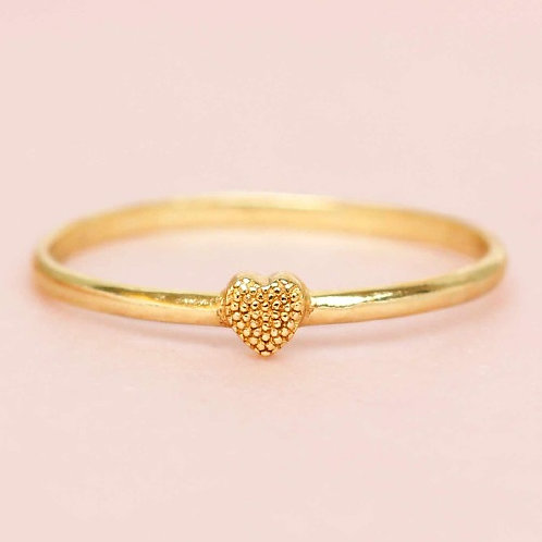 Ring little Heart Gold