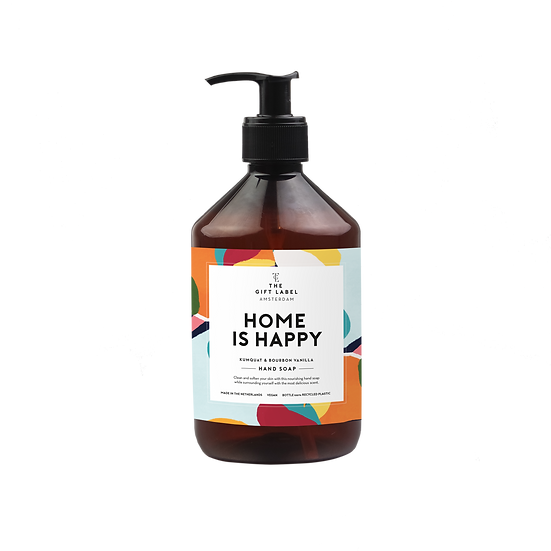 """Handseife """"Home is happy"""" - The Gift Label"""