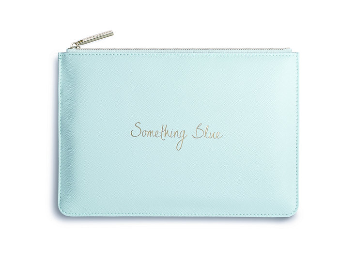 """Perfect Pouch """"Something Blue"""""""