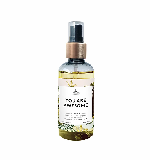"Bodymist ""You are awesome"" - The Gift Label"
