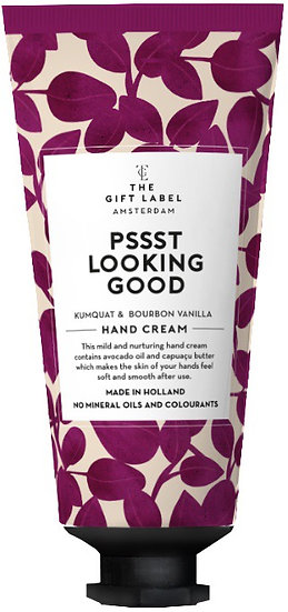 "Handcreme ""Pssst looking good"" Tube  - The Gift Label"