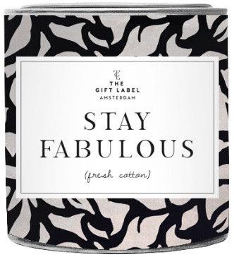 """Duftkerze """"Stay fabulous"""" - The Gift Label"""