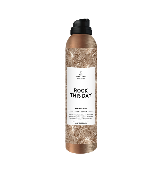 """Bodyfoam """"Rock this day"""" - The Gift Label"""