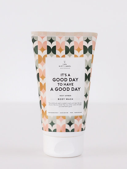 "Bodywash ""It´s a good day to have a good day"" - The Gift Label"