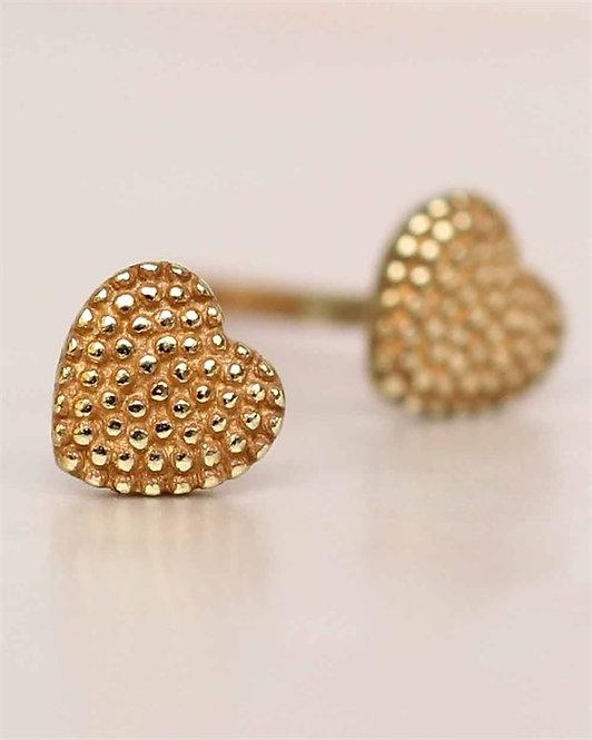 Ohrstecker Heart Gold