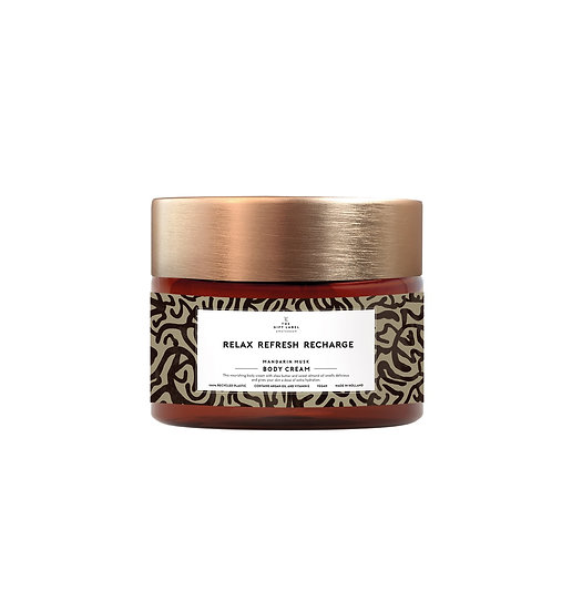 """Bodycream """"Relax Refresh Recharge"""" - The Gift Label"""