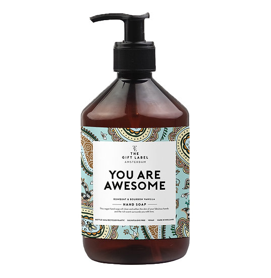 "Handseife ""You are awesome"" - The Gift Label"
