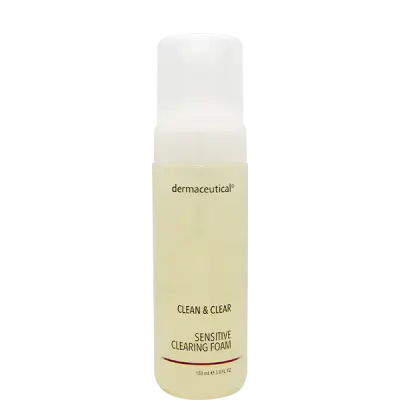 Sensitive Clearing Foam 150ml - Dermaceutical