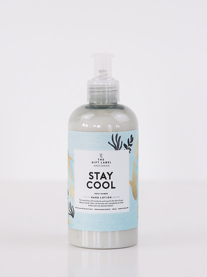 """Handlotion """"Stay cool"""" - The Gift Label"""