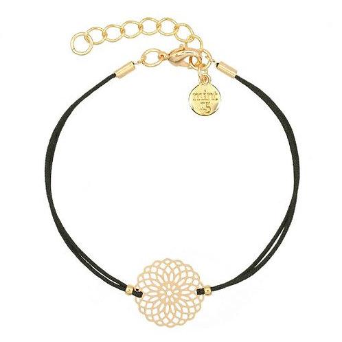 Armband Boho Ornament - Schwarz