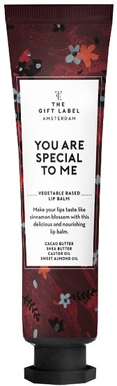 "Lipbalm ""You are special for me"" - The Gift Label"