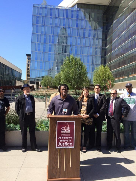 CLUE-LA Criminal Justice Reform Press Conference