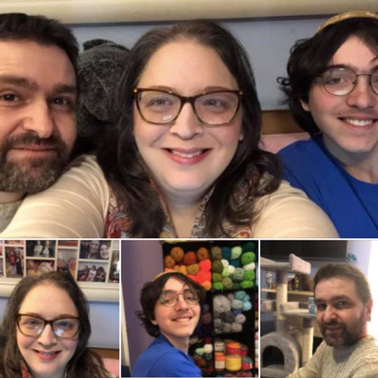 Celebrating Erin, Matthew, and Alex!