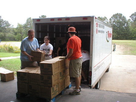Hurricane Katrina Relief Work in MS