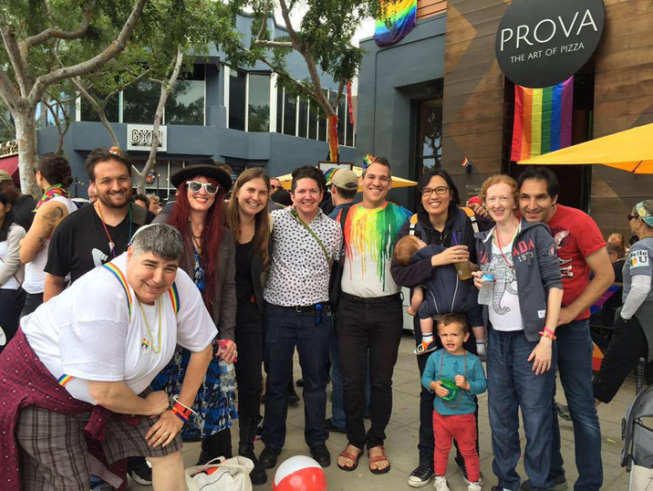LA Pride Parade Congregational Gathering