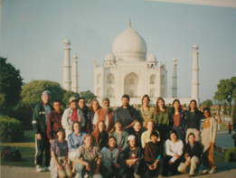 Learning about Mahatma Ghandi from his grandson, Arun for 3 weeks