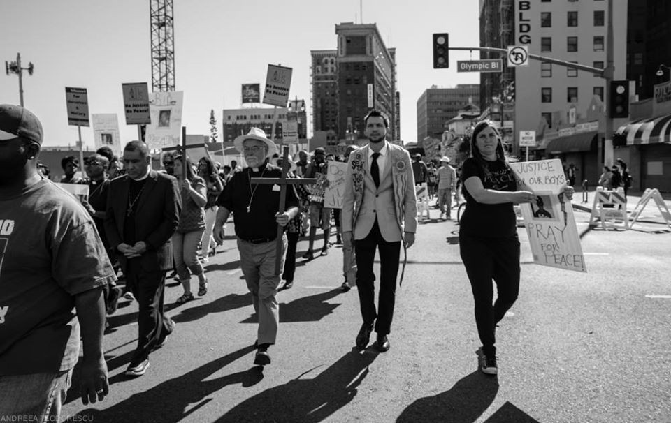 MLK, Jr. Justice March Downtown LA