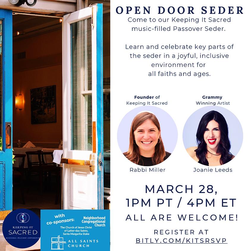 Open Door Passover Seder