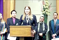 Interfaith Leaders for Marriage Equality Press Conference