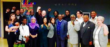 Holman United Methodist Church Press Conference for Criminal Justice Reform